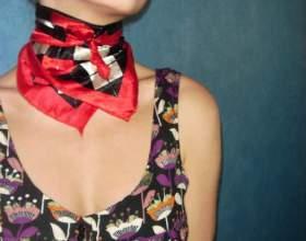 Как завязать шейный платок фото