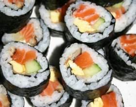 Как заворачивать суши фото
