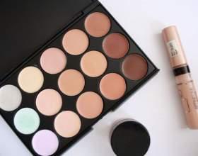 Средства для макияжа: тональный крем, бронзер, хайлайтер, шиммер, праймер фото