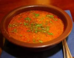 Суп харчо из курицы фото