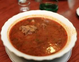 Суп харчо с черносливом фото
