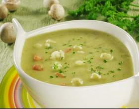 Суп-пюре из кабачков фото