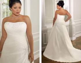 Свадебное платье для полной невесты фото