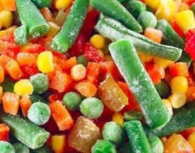 Свежемороженные овощи: польза или вред фото