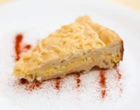 Сырный пирог на кефире фото