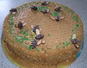 """Торт """"пчелка"""" фото"""