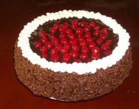 """Торт """"вишневая радость"""" фото"""