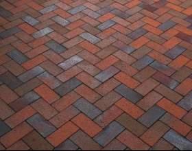 Тротуарная плитка: виды, способы укладки, особенности выбора фото
