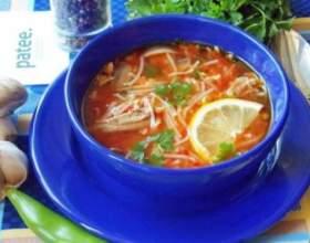 Турецкий суп izmir koefte фото