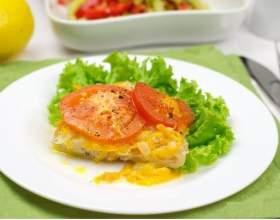 Тушёная рыба с овощами фото