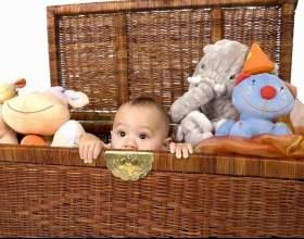 Учим ребенка убирать игрушки фото