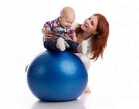 Упражнения на мяче для грудничков – полезно и весело фото