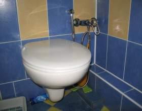 Установка гигиенического душа в туалете: на что обратить внимание фото
