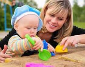В какие игры играть с годовалым ребенком фото