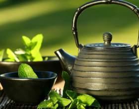 Ванночка для ног с зеленым чаем фото