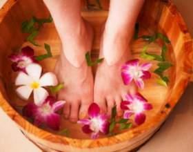 Ванночки для ног при потливости фото