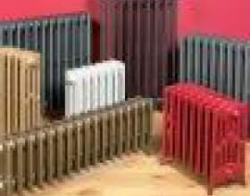 Виды радиаторов отопления фото