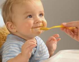 Введение прикорма малышу фото