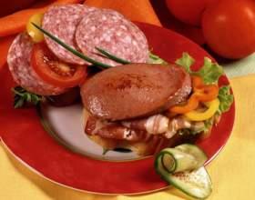 Закуски на хлебе (тартинки) фото